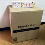 Amazonパントリーから荷物が届いた→使用感・正直な感想など