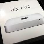 Mac miniを買いました。利用に必要なパーツなど