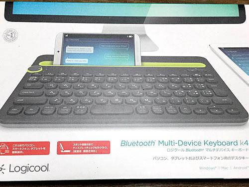 Logicool ロジクール Bluetooth マルチデバイス キーボード K480
