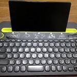 タブレット用にロジクールのBluetoothキーボードK480を買いました