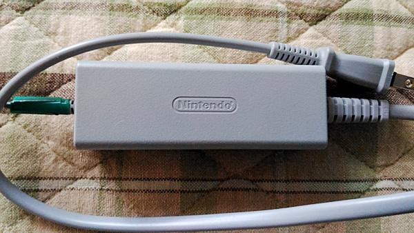 Wii U Gamepad ACアダプター
